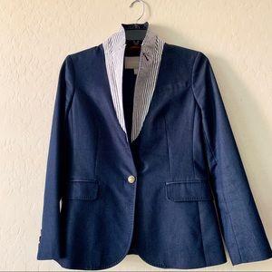 BANANA REPUBLIC lovely blue blazer